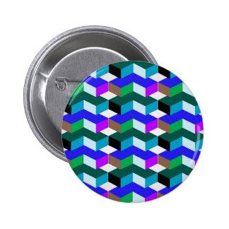 目の錯覚 5.7CM 丸型バッジ