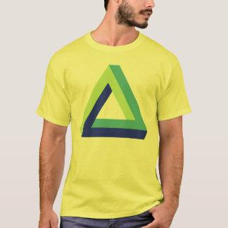 目の錯覚: penroseの三角形 tシャツ