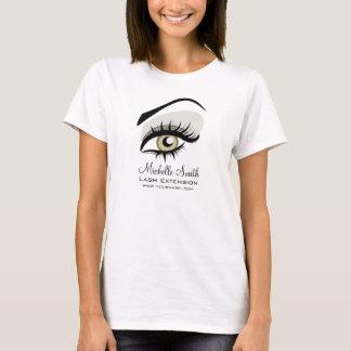 目の長い鞭の鞭延長会社のブランディング Tシャツ