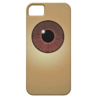 目は会います iPhone 5 ベアリーゼアケース