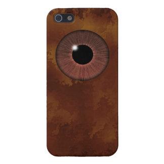 目は会います iPhone SE/5/5sケース