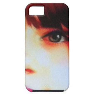 目は場合に電話をかけるのを見ます iPhone SE/5/5s ケース