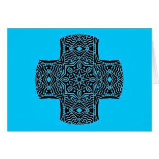 目まぐるしい十字の挨拶1 カード