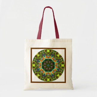 目まぐるしい曼荼羅のバッグ- 2 トートバッグ