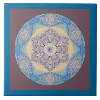目まぐるしい曼荼羅の雪片Tile.2 タイル