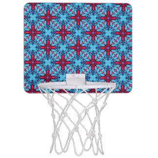 目キャンデーのヴィンテージの万華鏡のように千変万化するパターンの   バスケットボールバスケ ミニバスケットボールゴール