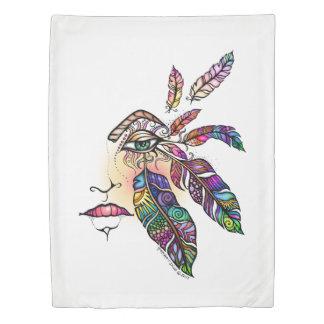 目愛はファンタジーの芸術に羽をつけます 掛け布団カバー