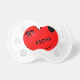 目愛私のお母さん 赤ちゃんおしゃぶり