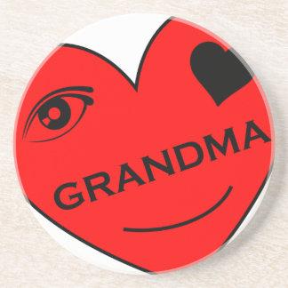 目愛私の祖母 コースター