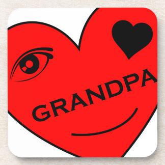 目愛私の祖父 コースター