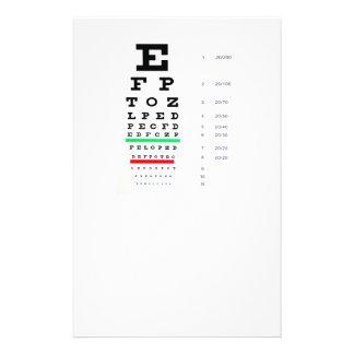 目検査 チラシ