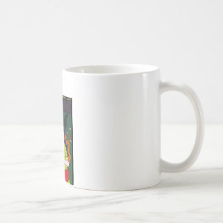 目玉も生える 三日月の夜 コーヒーマグカップ