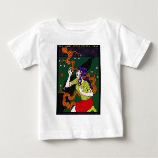 目玉も生える 三日月の夜 ベビーTシャツ