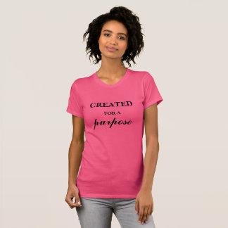目的のために作成される Tシャツ