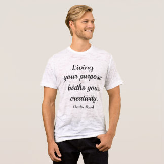 目的 Tシャツ