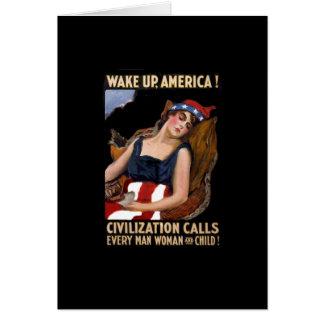 目覚しアメリカWWI カード