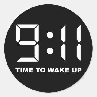 目覚める9:11の時間 ラウンドシール