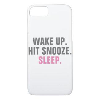目覚め、眠らせて下さい iPhone 8/7ケース