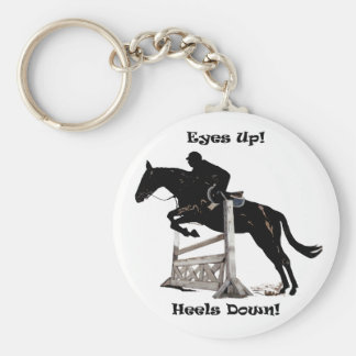 目! かかと! 馬 キーホルダー