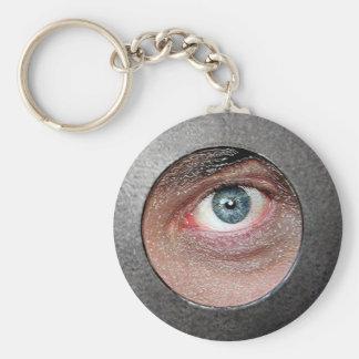 目 キーホルダー