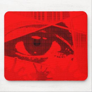 目。 マウスパッド(赤い版) マウスパッド