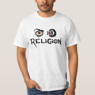 目H8の宗教 Tシャツ