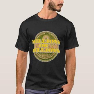 目Primo Leone_Gold、何百万または十億 Tシャツ