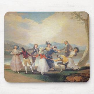盲人のもみ革1788-9年(タペストリーの漫画) (sのために マウスパッド
