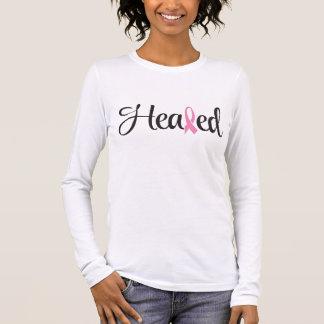 直された乳癌のピンクのリボンのワイシャツの聖なる書物、経典 Tシャツ