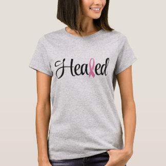 直された乳癌のピンクのリボンのTシャツ Tシャツ