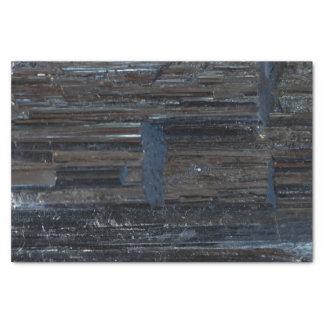 直るクールで黒い電気石石を基づかせています 薄葉紙