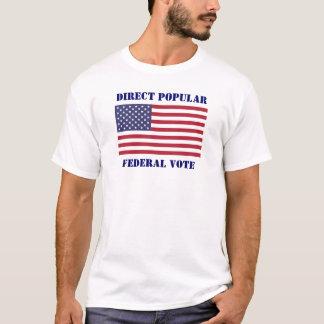 直接投票 Tシャツ