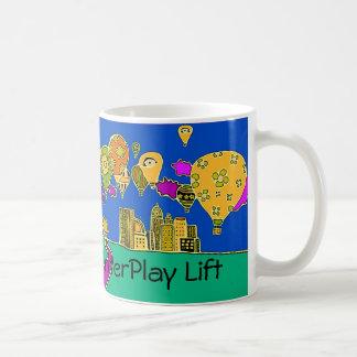 相互作用の上昇 コーヒーマグカップ