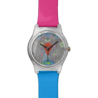 相互作用UFOの地球およびエイリアンMay28thの腕時計 腕時計