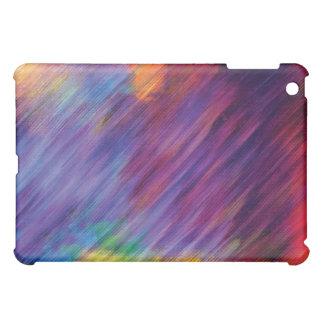 相互抽象芸術色のiPadのフォリオの箱 iPad Miniケース
