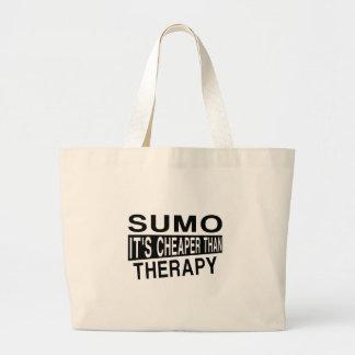 相撲それはセラピーより安いです ラージトートバッグ