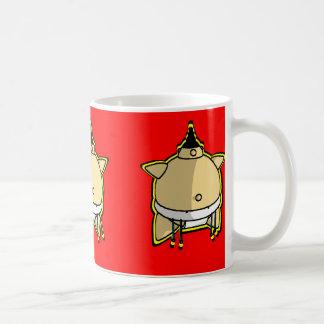 相撲のマグ コーヒーマグカップ