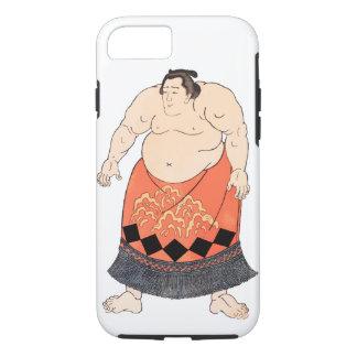 相撲のレスリング選手 iPhone 8/7ケース