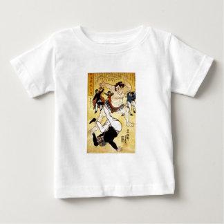 相撲のレスリング選手c. 1861年 ベビーTシャツ