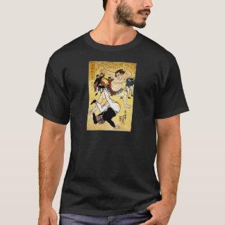 相撲のレスリング選手c. 1861年 tシャツ