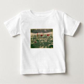 相撲の写真c.の1890年代 ベビーTシャツ