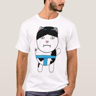 相撲の子猫のワイシャツ Tシャツ