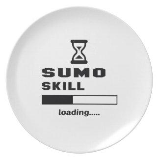 相撲の技術のローディング...... プレート