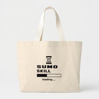 相撲の技術のローディング...... ラージトートバッグ