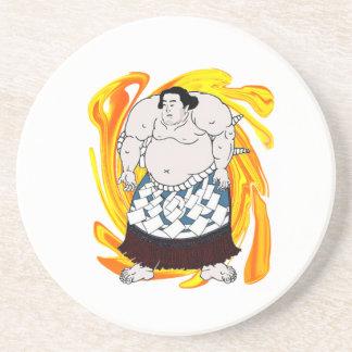 相撲の掃除人 コースター