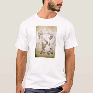 相撲のrollerskater tシャツ