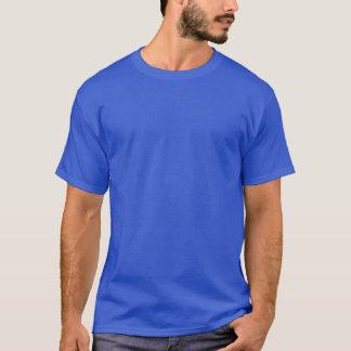 相撲は青い大理石を転がります Tシャツ