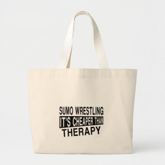 相撲レスリングそれはセラピーより安いです ラージトートバッグ