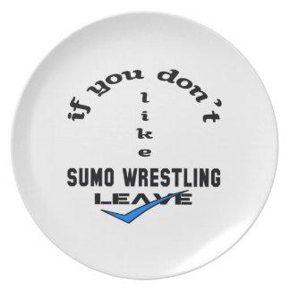 相撲レスリングの許可を好まなければ プレート