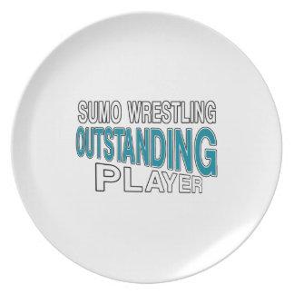 相撲レスリングの顕著なプレーヤー プレート